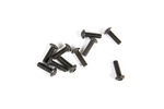 Axial M2.6x8mm Hex Socket Button Head Black (10)