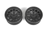 "Axial 1.9"" Method Mesh Wheels Black (2)"
