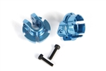 Axial Aluminum Shock Spring Retainer 12mm Blue