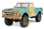 Axial 1967 Chevrolet C/10 Body .040 Uncut Clear SCX10