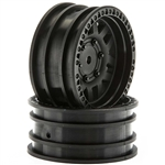 "Axial 1.9"" Wheels KMC XD Machete Crawl Black (2)"