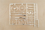 Axial Interior Details Parts Tree - Chrome