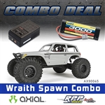 Axial Wraith Spawn 1/10th Scale Electric 4WD RTR Combo with Charger and NiMh Battery