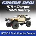 Axial SCX10 II Trail Honcho 4WD RTR Combo with Charger and NiMh Battery
