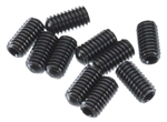 Axial EXO M4x8mm Set Screw (Black) (10pcs)