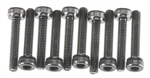 Axial Cap Head M3x16mm Black Oxide (10)