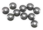 Axial Nylon Locknut M4 Black (10)