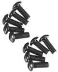 Axial Hex Socket Button Head M3x8mm Black Oxide (10)