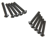 Axial Hex Socket Button Head M3x18mm Black Oxide (10)
