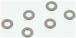 Axial Spacer 0.5x6mm Grey (6)