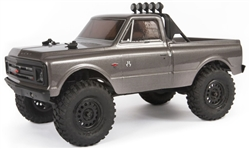 Axial SCX24 RTR with 1967 Chevrolet C10 Body - Dark Silver