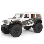 Axial SCX24 RTR with Jeep Wrangler JL Unlimited Body White