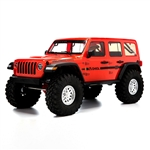 Axial SCX10 III RTR with Jeep JLU Wrangler Body - Orange