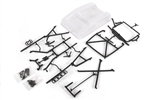 Axial 1955 Ford Roll Cage Set w/Inner Bed Panels (Clear)