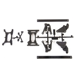 Axial UMG 6x6 SCX10 II Frame Extension & Brace Set