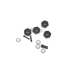 Axial 12mm Hex, Screw Shaft & Spacers (4) UTB