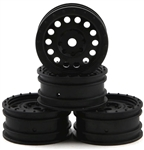 "Axial 1.0"" Method MR307 Hole Wheels, Black (4)"