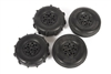 Axial ST28 Razor FR / Paddle RR Tire Set for Yeti Jr.