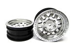 "Axial 1.9"" KMC Machete Wheel - Satin Silver (2)"
