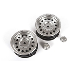 "Axial 1.9"" Method MR307 Hole Wheel Satin Silver (2pcs)"