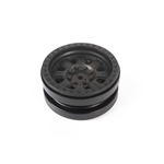 "Axial 1.9"" 3-piece Raceline Monster Beadlock Wheels Black (2)"