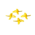 Blade Prop Set, Yellow (4): Inductrix