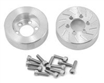 "Beef Tubes Beef Patties Scale Brake Rotors/Weights 2.2"" (SLW) - Aluminum (2)"