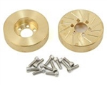 Beef Tubes BEEF PATTIES Scale Brake Rotors/Weights 2.2 (SLW) - Brass (2)