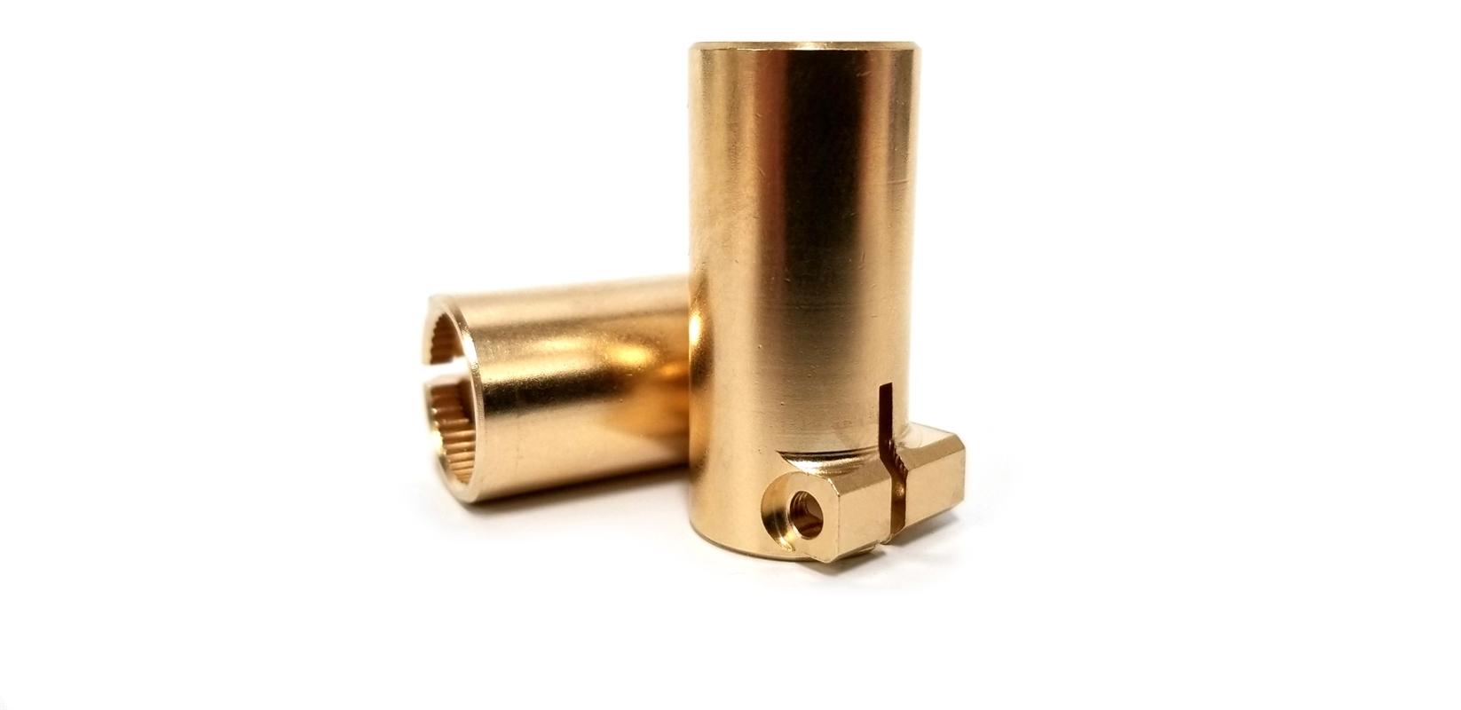 Beef Tubes SCX10 II / AR44 Brass Lockouts