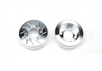 Beef Tubes Beef Patties Scale Brake Rotors/Weights (Gear Head) - Aluminum (2)