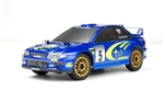 Carisma GT24 Micro 4WD Brushless RTR with Subaru WRC Body