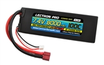 Common Sense RC 8000mAh 2S 7.4V 100C Lectron Pro LiPo Battery - Deans