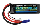 Common Sense RC 2200mAh 3S 11.1V 50C Lectron Pro LiPo Battery - EC3