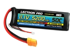 Common Sense RC Lectron Pro 3S 11.1V 5200mAh 50C LiPo Battery - XT90