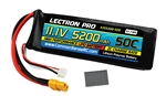 Common Sense RC Lectron Pro 3S 11.1V 5200mAh 50C LiPo Battery - XT60