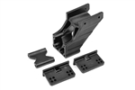 Team Corally Adjustable Wing Mount Set, Composite, V2