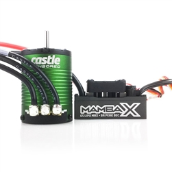 Castle Creations Mamba X WP ESC and 1406-5700KV Sensored Combo