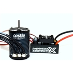 Castle Creations Mamba X Sensored 25.2V WP ESC and 1406-1900Kv Crawler Sensored Combo