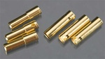 Castle Creations 4mm High Current CC Bullet Connector Set