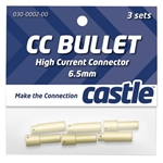 Castle Creations 6.5mm High Current CC Bullet Connector Set