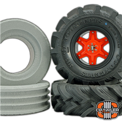 "Crawler Innovations Deuce's Wild Single Stage for ""Fling King"" 2.6"" MT Tires Foam Pair (2)"