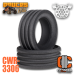 "Crawler Innovations Deuce's Wild Heavy Weight Single Stage 3.45"" - 3.85"" Tall 1.9 Tire Foams (2)"