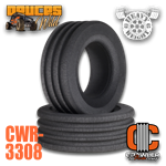 "Crawler Innovations Deuce's Wild Heavy Weight Single Stage 4.00"" - 4.40"" Tall 1.9 Tire Foams (2)"