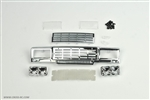 Cross-RC Chrome Main Grille Kit (Square Headlights) SG4