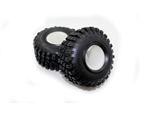 "Cross-RC Mud Crawler 1.9"" Tires (2)"