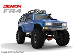 Cross-RC FR4C Demon 4x4 Crawler Kit w/ Lexan SUV Body 1/10 Scale - Version C