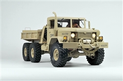 Cross-RC HC6 Off Road Military Truck Kit 1/12 Scale 6x4