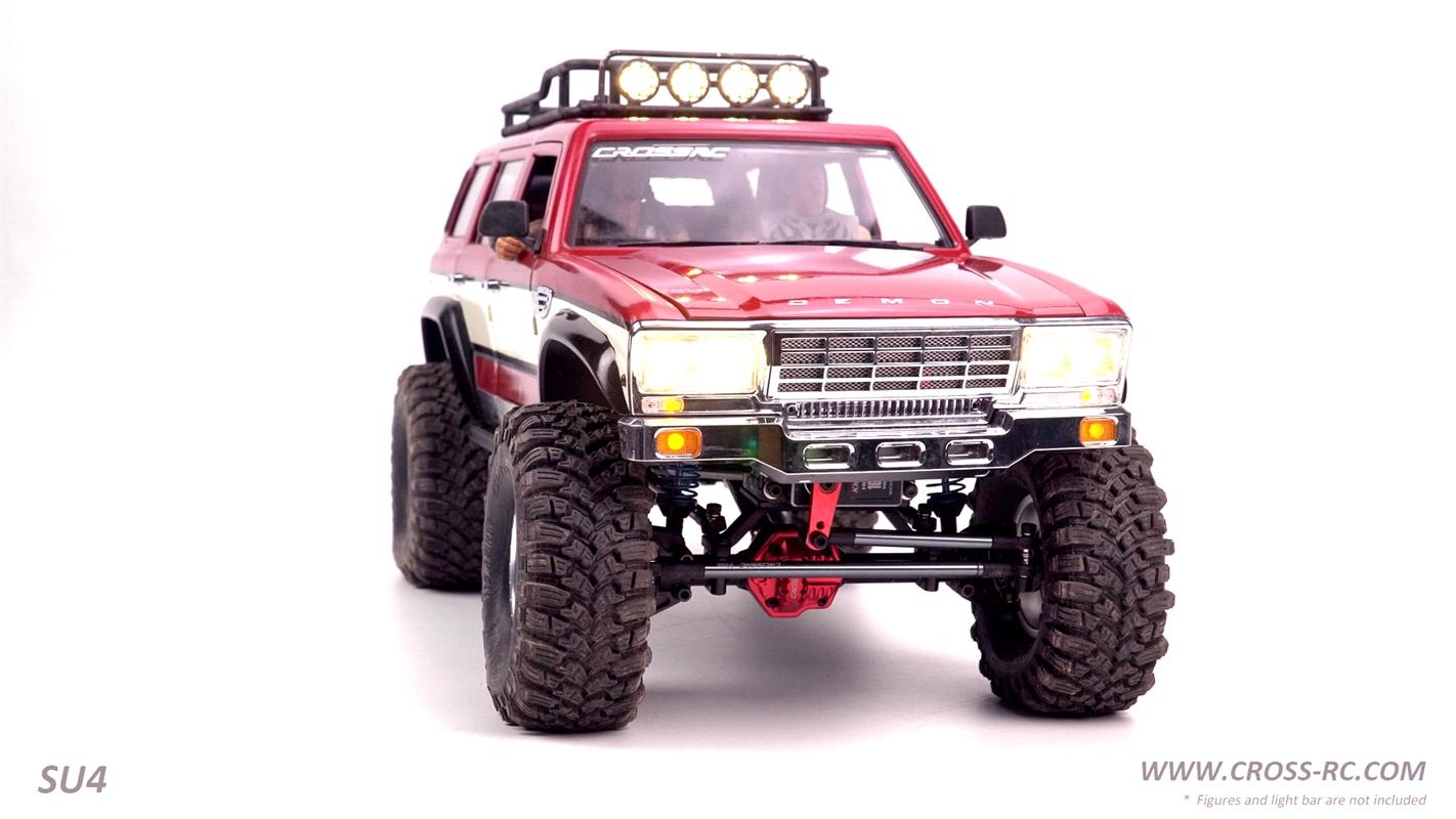 Cross-RC SU4C Demon 4x4 Crawler Kit w/ Hard Body SUV 1/10 Scale - Version C