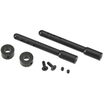 "Duratrax Nylon Universal Body Post Black 2.5"" (2)"