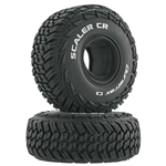"Duratrax Scaler CR 1.9"" Crawler Tire C3 (2)"